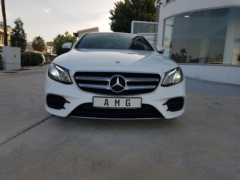 Mercedes Benz E CLass 220D – Premium Line 9G