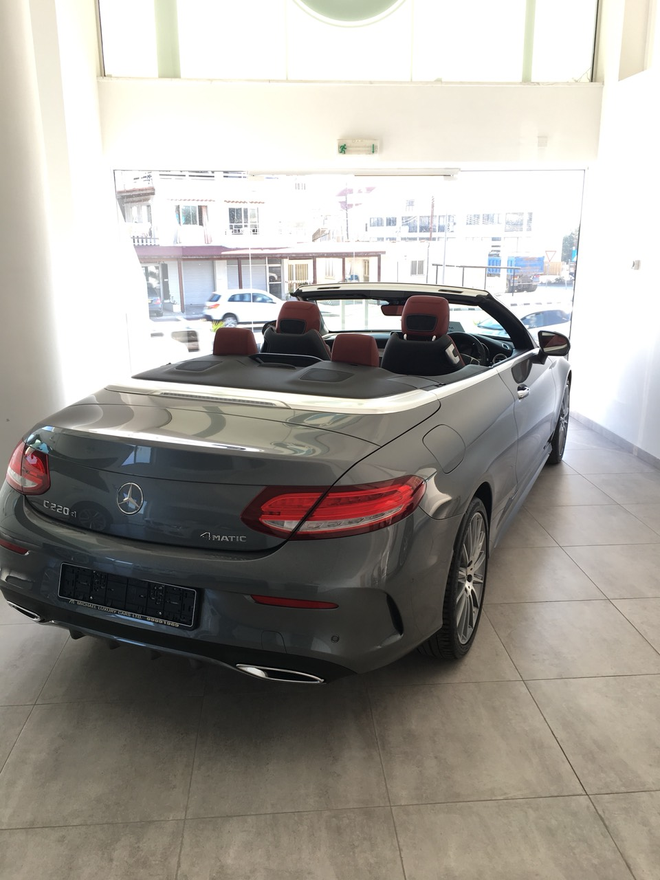Mercedes C 220 AMG Coupe 4 Matic