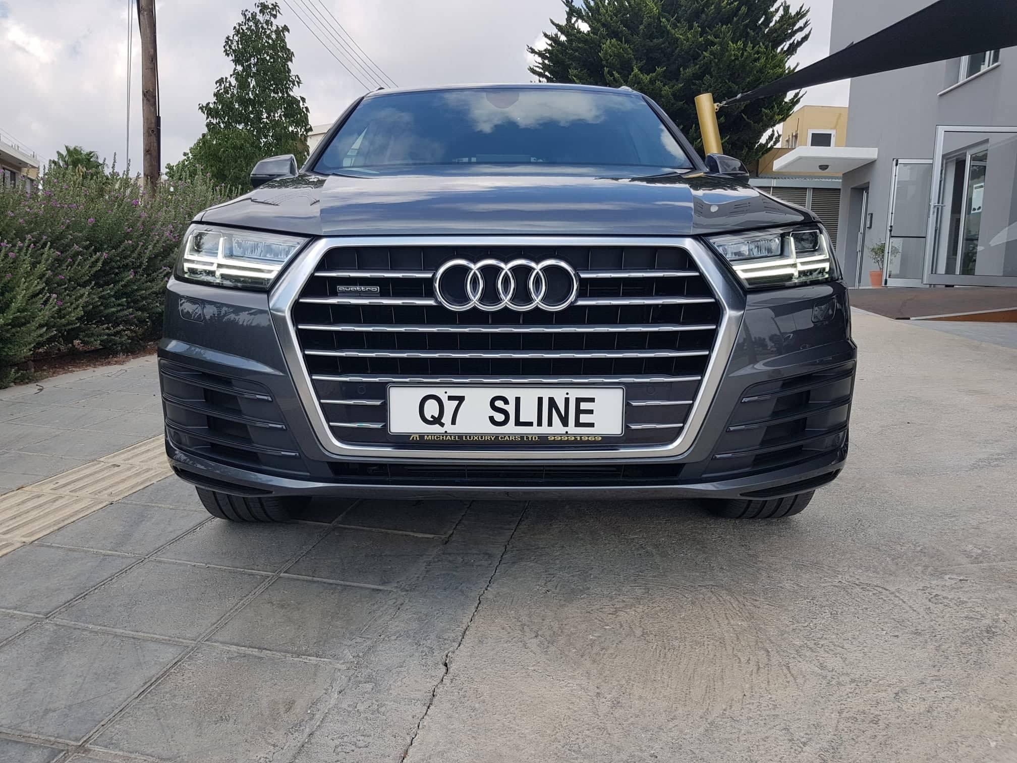 Audi Q7 Sline Quattro – 7 seats