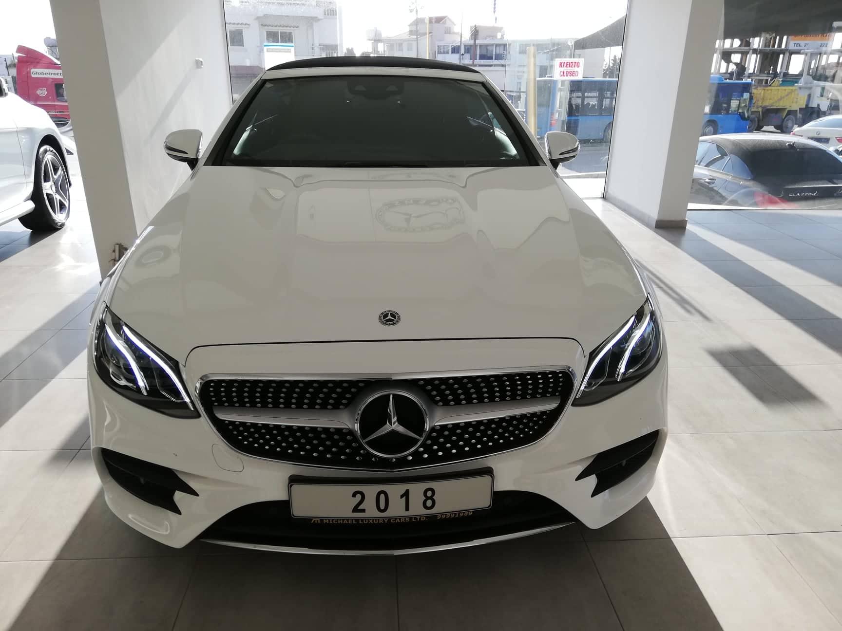 Mercedes Benz E 220 D AMG Line Auto