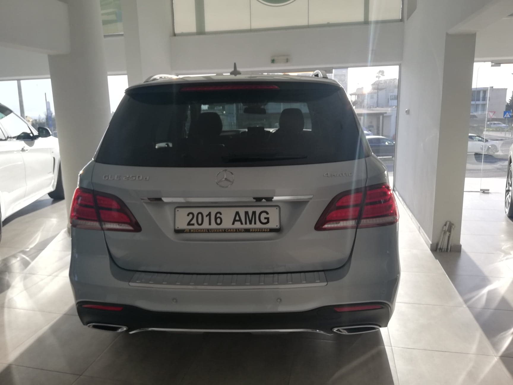 Mercedes Benz GLE 250D – 4Matic AMG Line