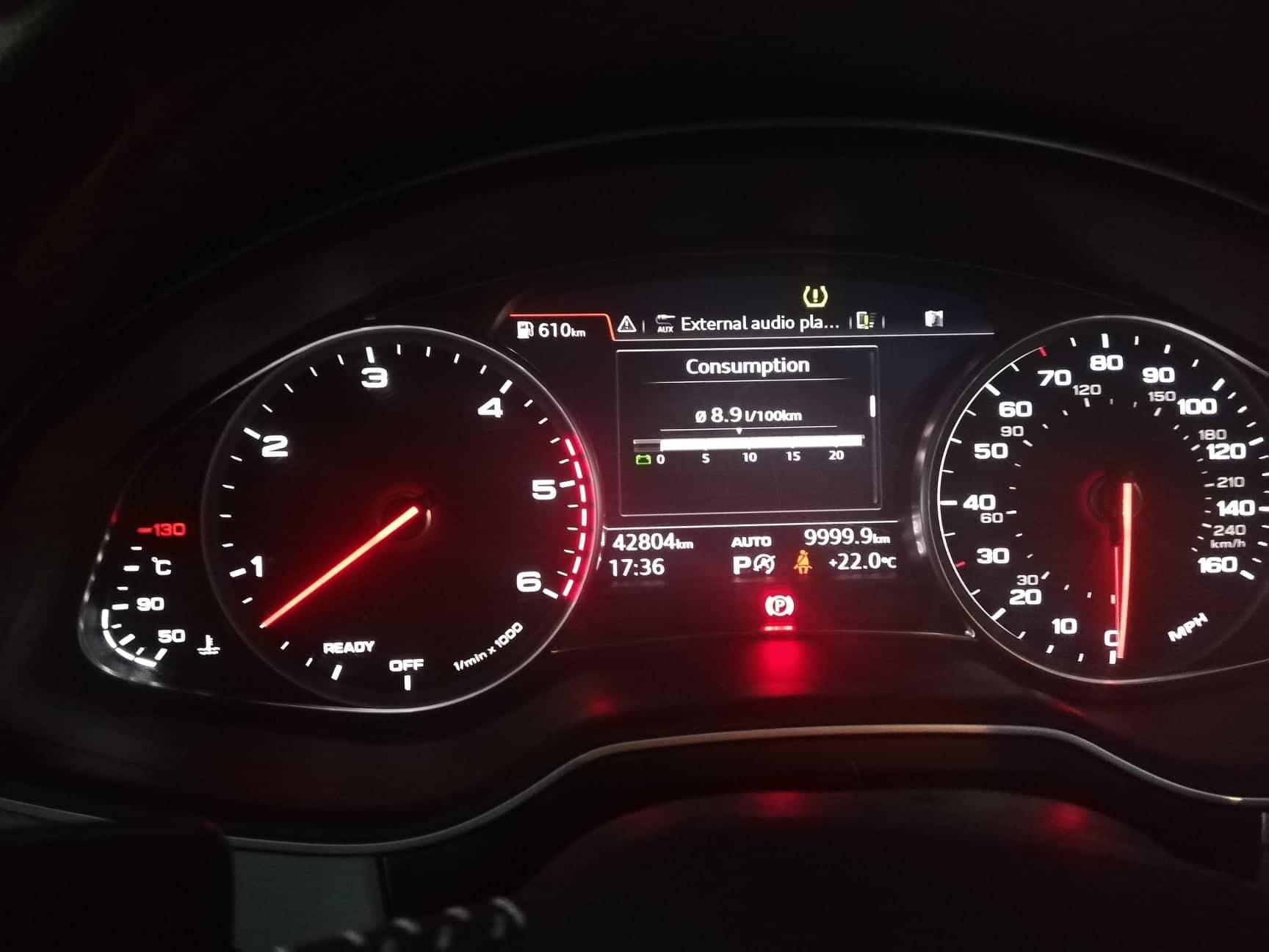 Audi Q7 S Line – 7 Seater