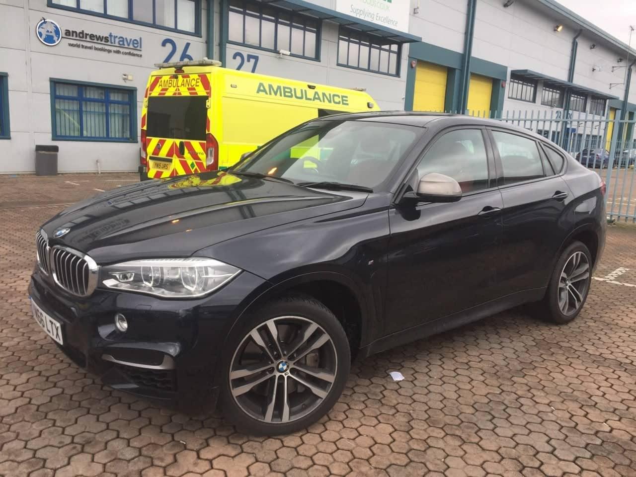 BMW X6 M 50 Sport