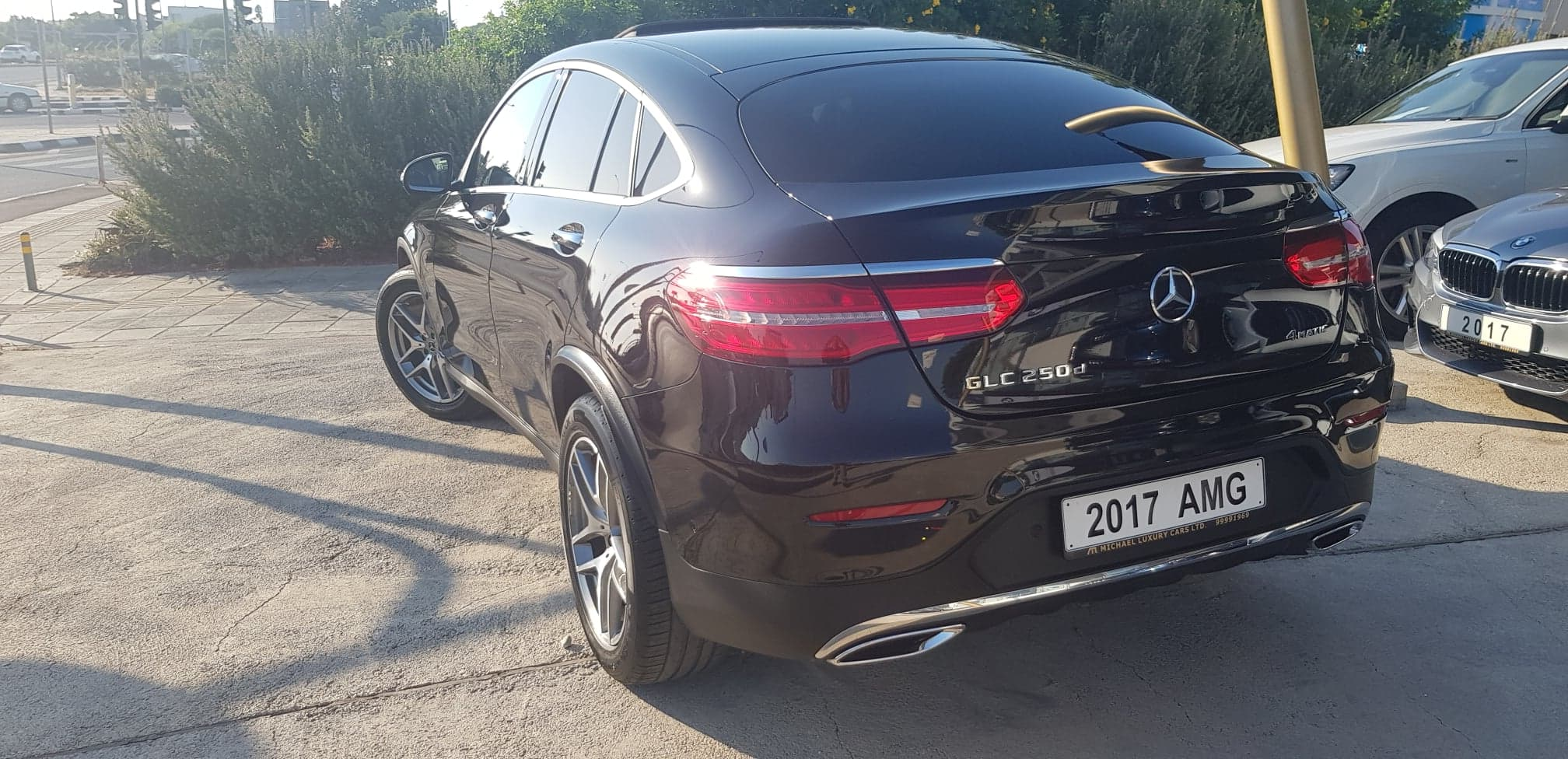 Mercedes Benz GLC Class 250 Premium Plus Coupe