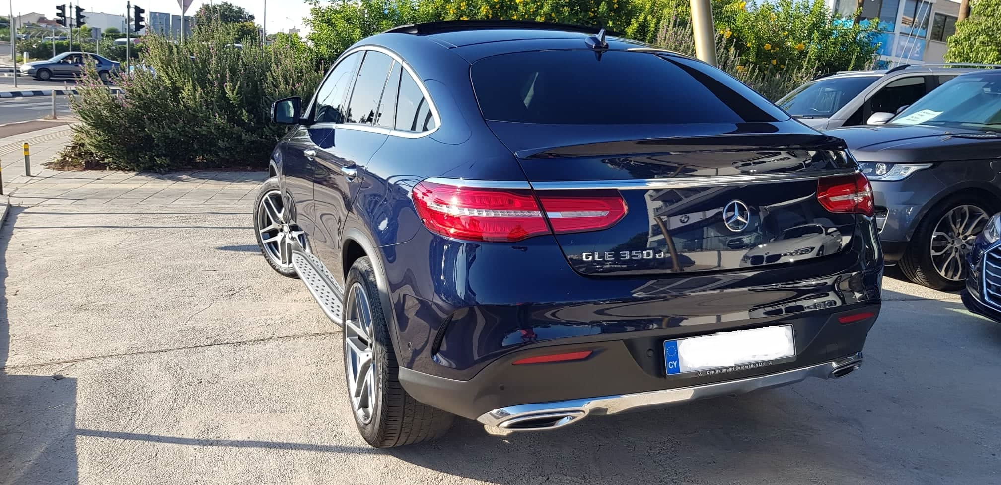 Mercedes GLE 350D AMG 4 MATIC
