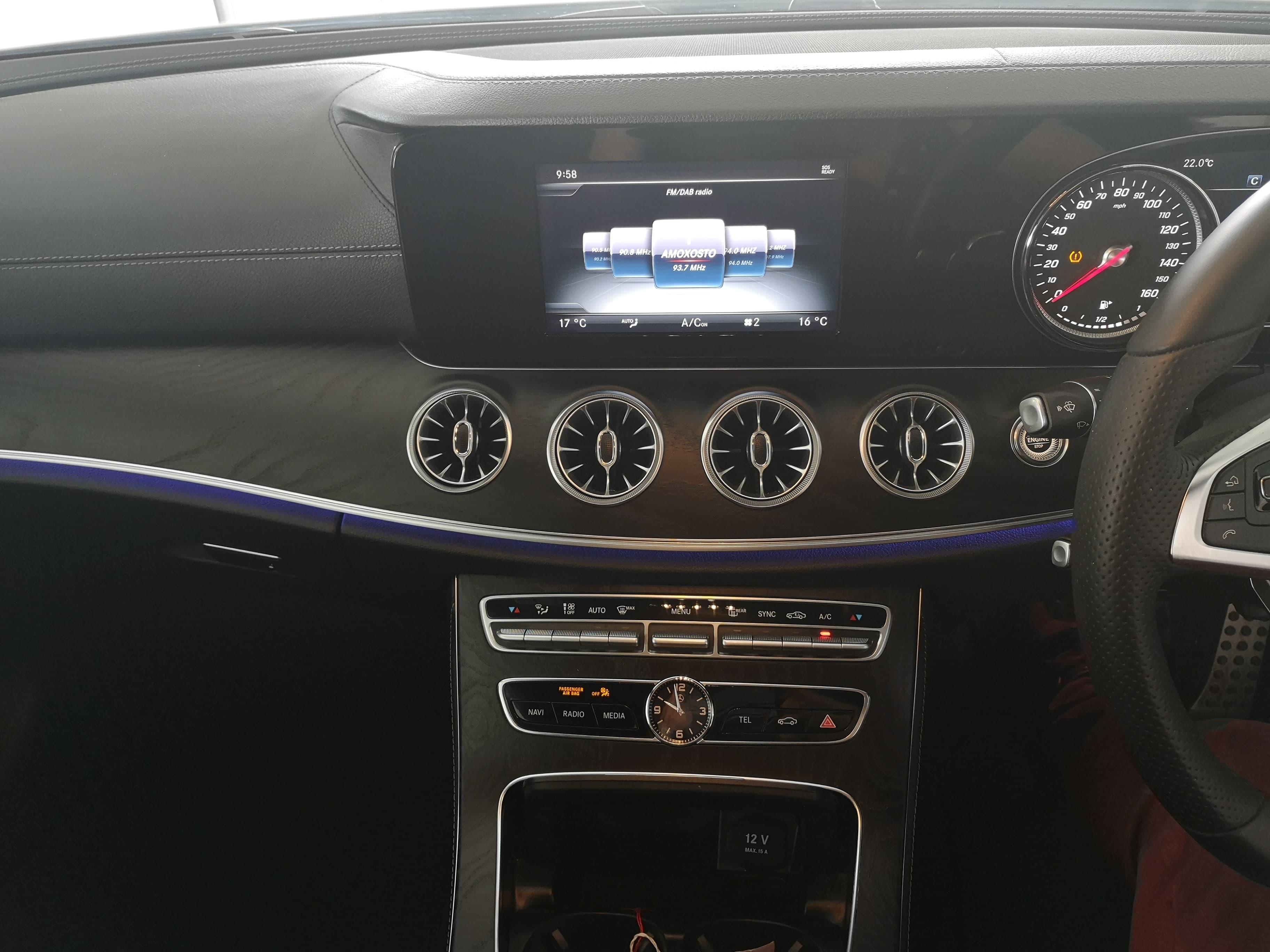 Mercedes Benz Ε Class 220D Coupe