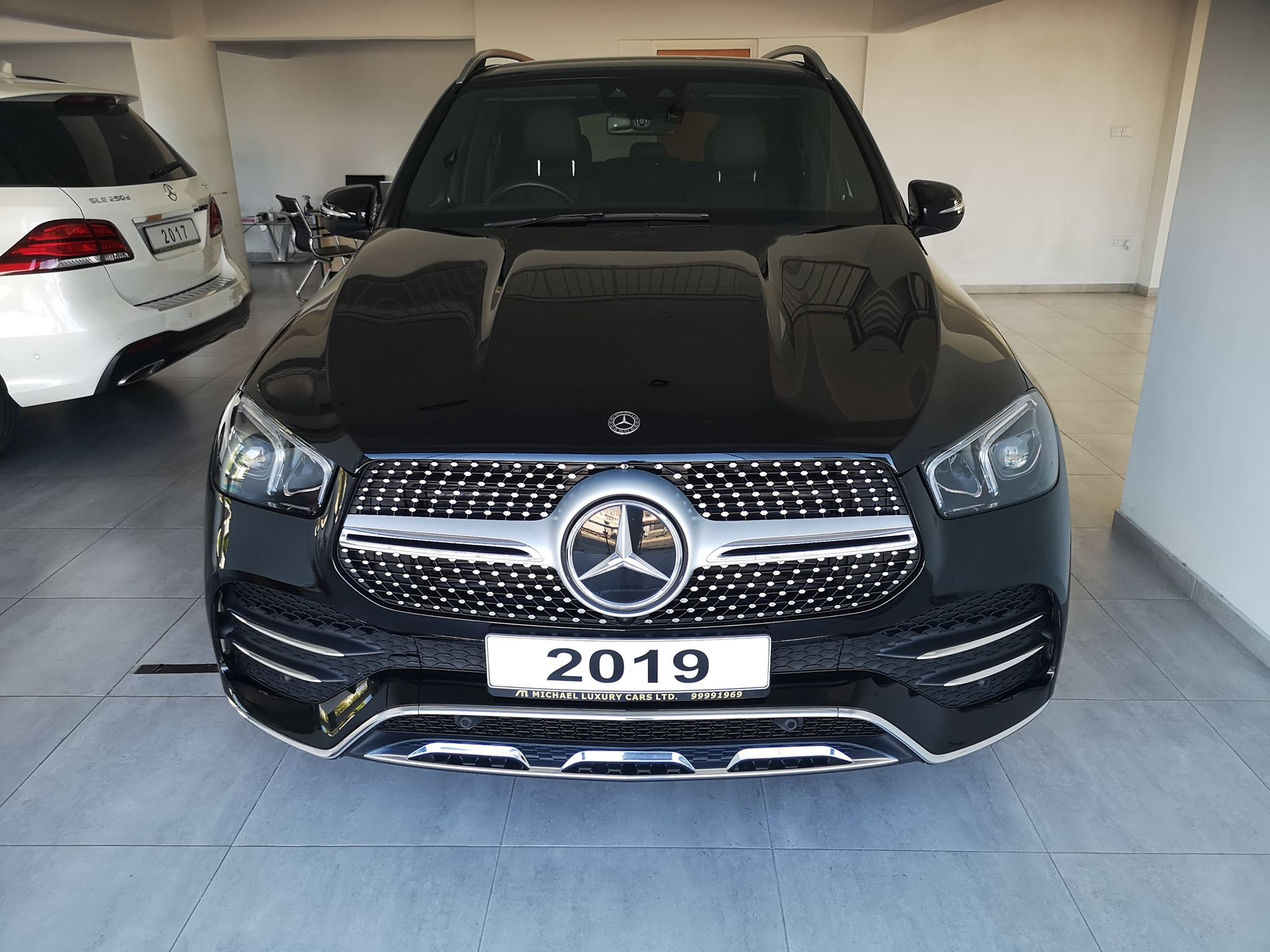 MERCEDES-BENZ GLE GLE 300D 4MATIC AMG LINE 5DR 9G