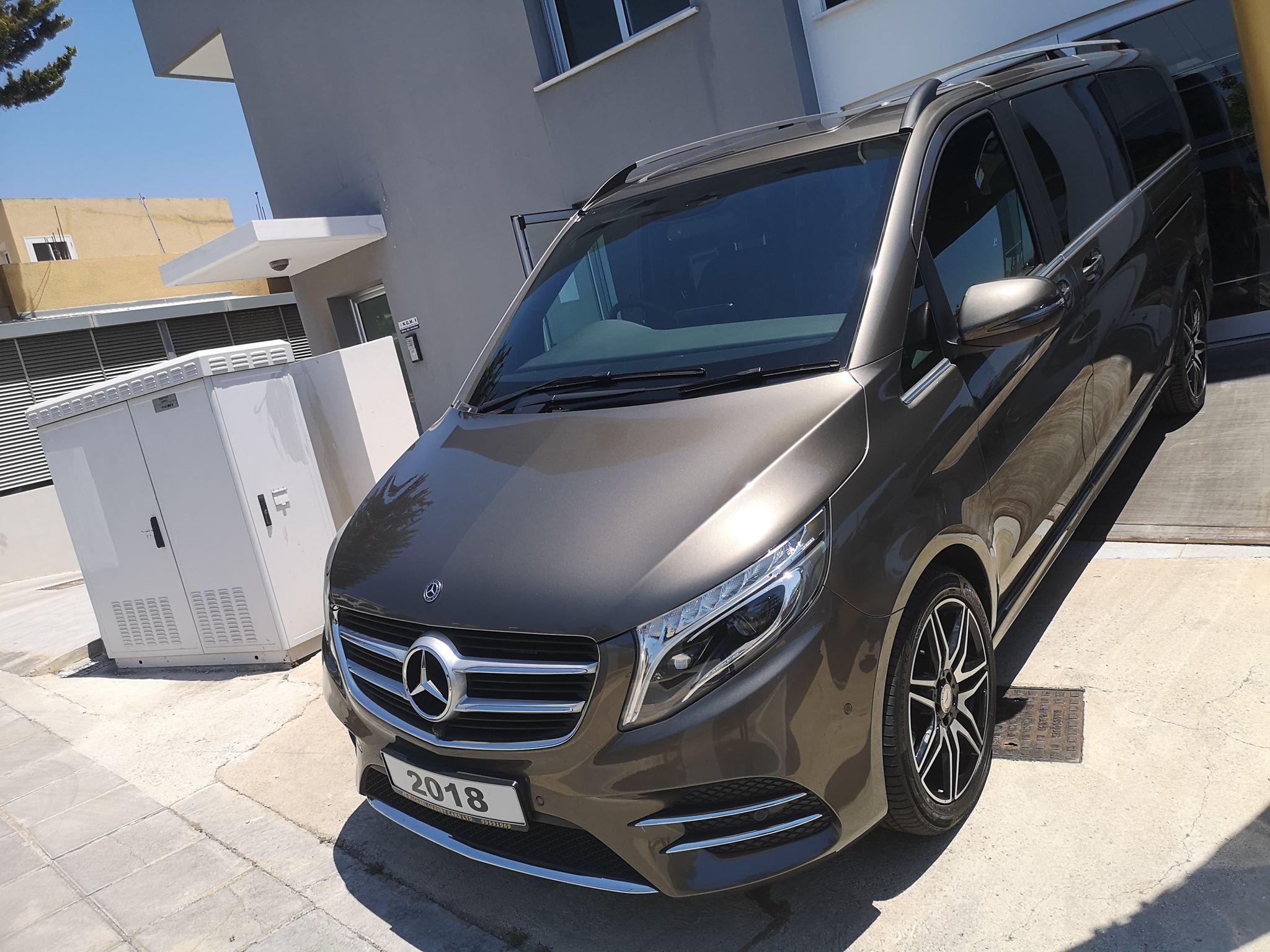 Mercedes-Benz V250d AMG  2018 Extra Long 8 Seater