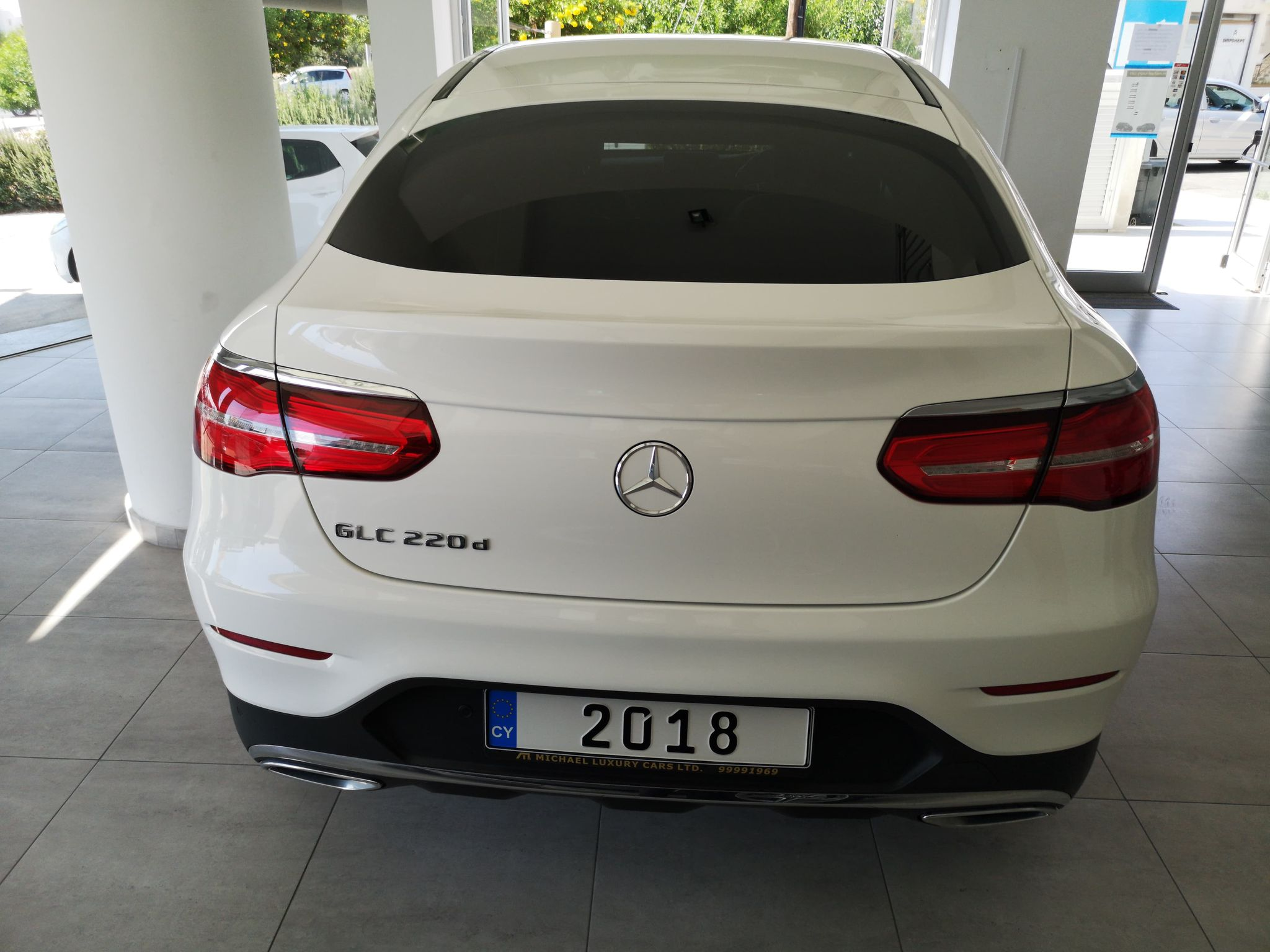 Mercedes GLC 220D AMG 4 MATIC
