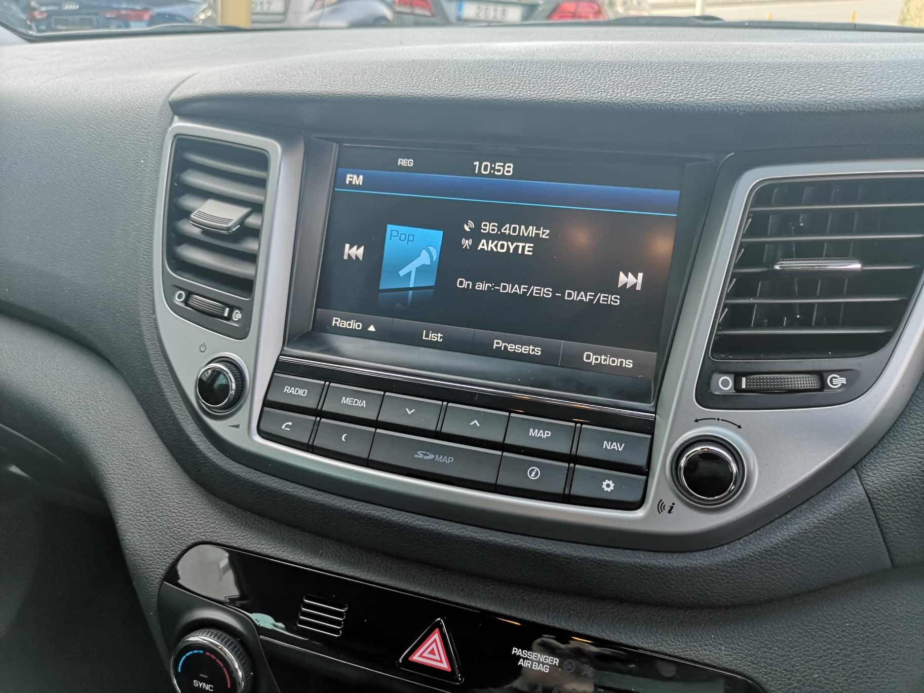 Hyundai Tucson 17d CRDI BLUE Drive Premium
