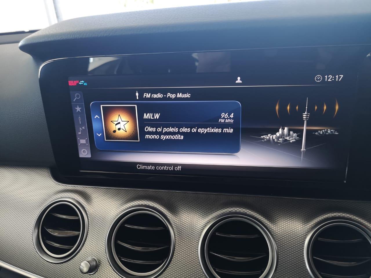 MERCEDES-BENZ E220D AMG LINE Facelift