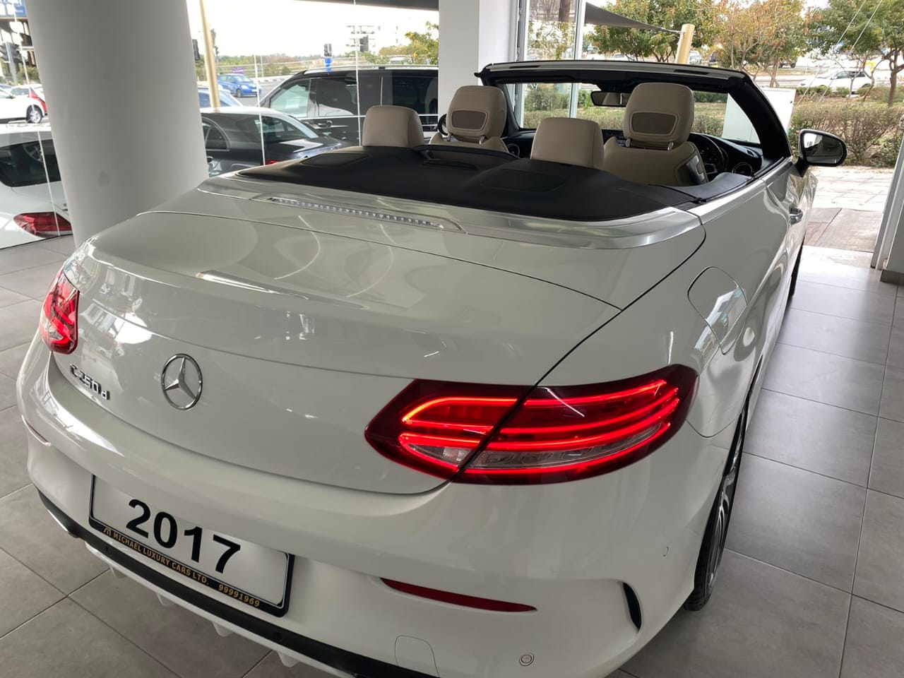 Mercedes C250d Cabriolet AMG