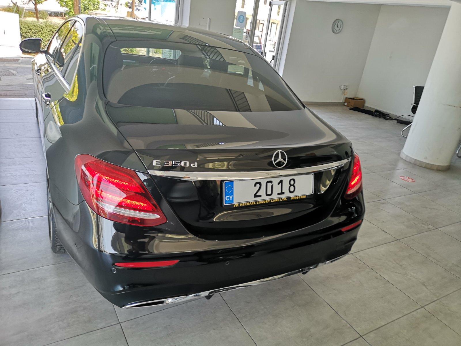 Mercedes E 350 Premium Plus AMG 2018